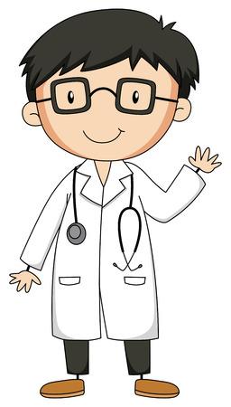 Cierre de médico con estetoscopio Foto de archivo - 39768009