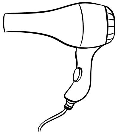 Rapproché Design plaine de sèche-cheveux