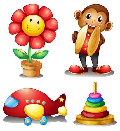 for children toys: Four type of classic toys for young children