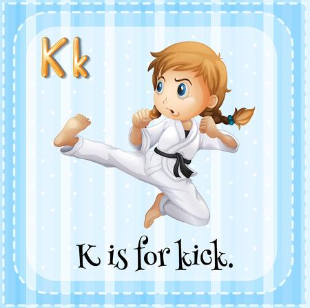 patada: Grupos de tarjetas de K está para el ejemplo Tiro Vectores