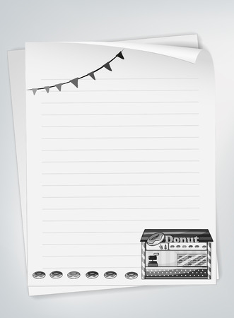 paper background: