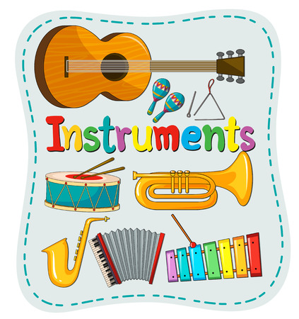 65,527 Musical Instrument Stock Vector Illustration And Royalty ...