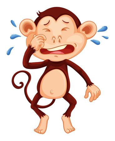 tear: mn_monkey_crying illustration