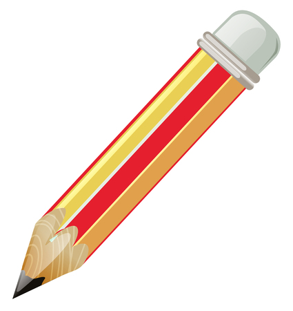 pictures: Pencil with sharp lead illustration