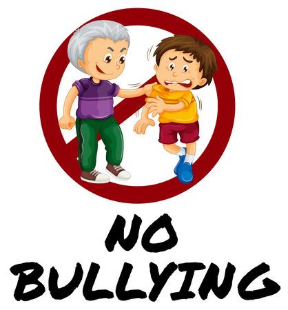 116 No Bullying Stock Vector Illustration And Royalty Free No ...
