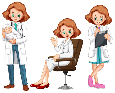 11,150 Female Doctor Stock Illustrations, Cliparts And Royalty ...