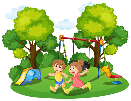 18,667 Kids Park Stock Vector Illustration And Royalty Free Kids ...