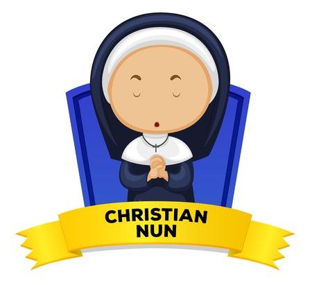 1,181 Nun Stock Illustrations, Cliparts And Royalty Free Nun Vectors