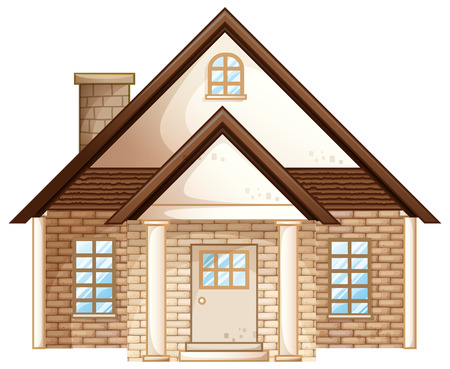 15,758 Brick House Stock Vector Illustration And Royalty Free ...