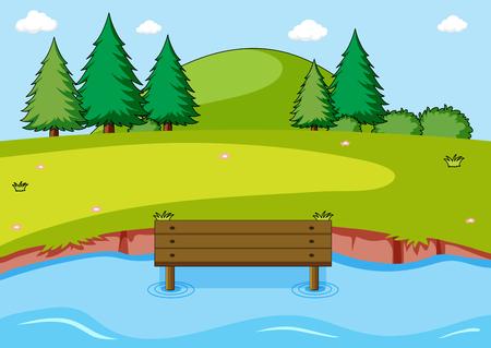 A simple nature scene illustration