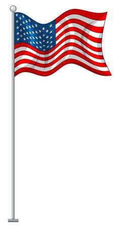 Flag design of United States