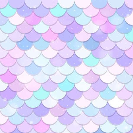 Fantasy mermaid scales pattern