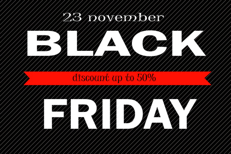 Illustration of Black Friday discount offers