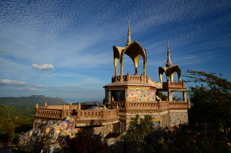 relics: temple in thailand , Relics Stock Photo