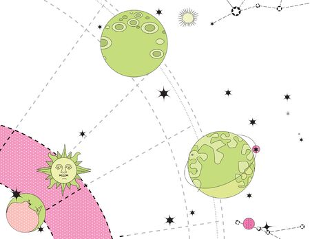 Horoscope. Stars and constellations are control. Predictions and character traits.