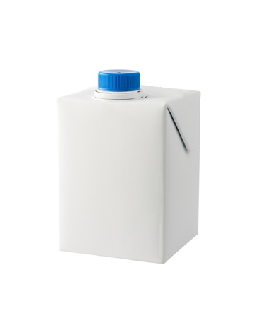 A half liter milk carton isolated on white background Stock Photo - 15358329