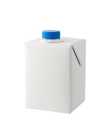 A half liter milk carton isolated on white background Stock Photo - 15358329