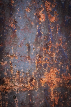 Rusty metal grunge background Stock Photo - 17585517