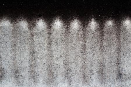 sheetrock: Soot on the gypsum sheet background Stock Photo