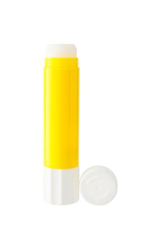 glue: Klebestift isoliert auf wei?em Hintergrund