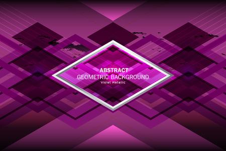 violet: violet geometric background