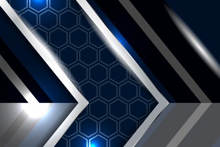 navy blue background: modern style abstract navy blue background Illustration