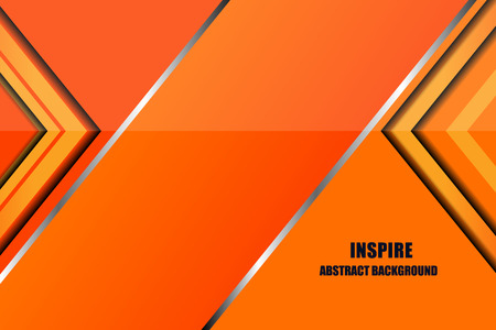inspire: geometric abstract inspire background, Vector Illustration