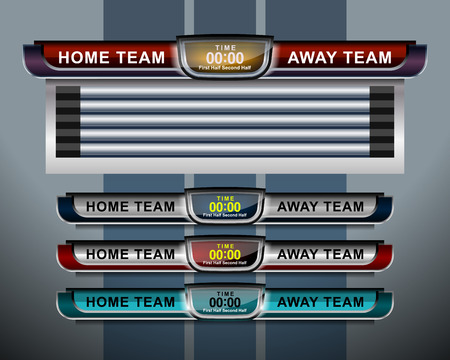 Scoreboard Soccer Stock Illustrations Cliparts And Royalty