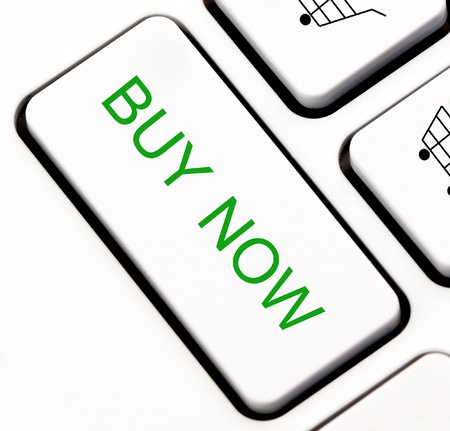 Buy now keyboard key Stock Photo - 13793098