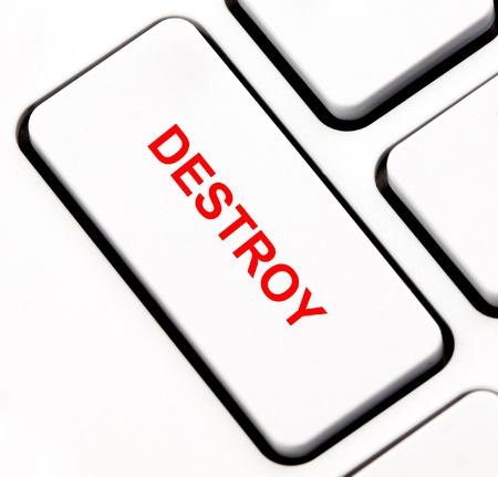 Destroy keyboard key