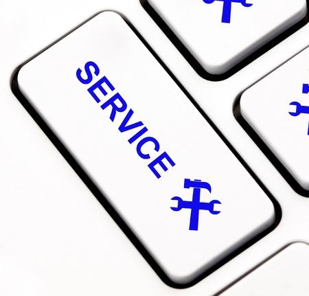 Service keyboard key  photo