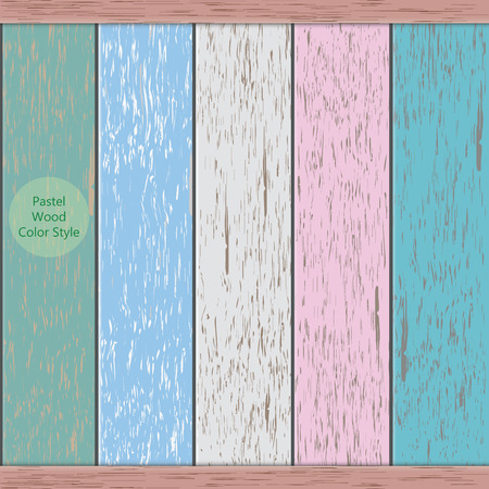 5 vector pastel wood background