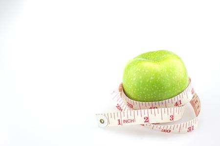 measured: Green apples measured the meter, sports apples