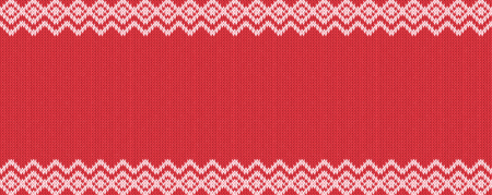 Widescreen seamless knitting pattern. Real seamless pattern can assign to bo pattern for paint bucket tool.