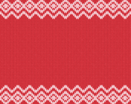 Seamless knitting pattern. Real seamless pattern can assign to bo pattern for paint bucket tool.