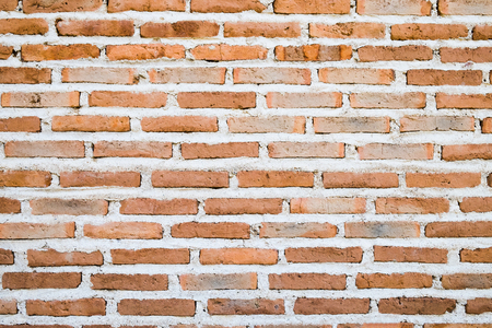 Red brick wall texture grunge background , may use to interior design