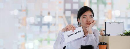 Business Change of job, unemployment, resigned concept. Фото со стока - 137053580