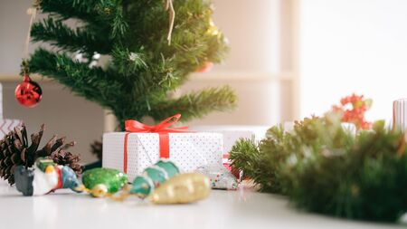 Christmas and New year copyspace. Holiday concept. Imagens