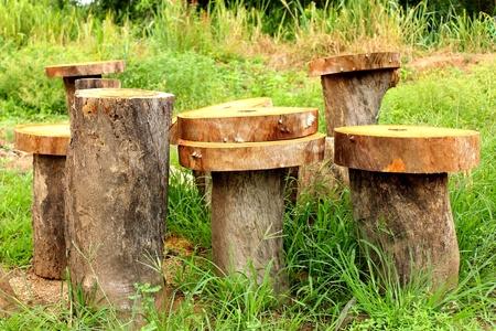 materiale: Log legname legname