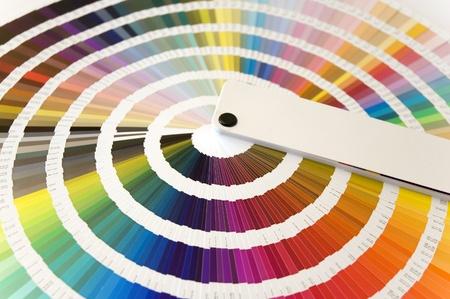 Une formule de la couleur au guide Banque d'images