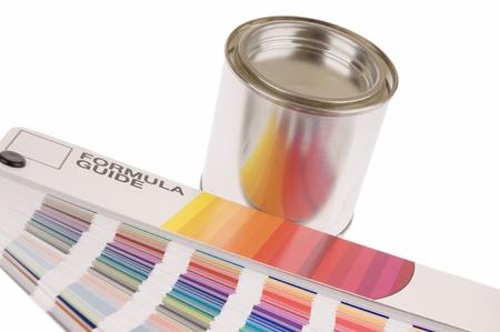 カラーガイド数式空白のペイントすることができます。