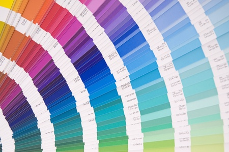 A color formula guide