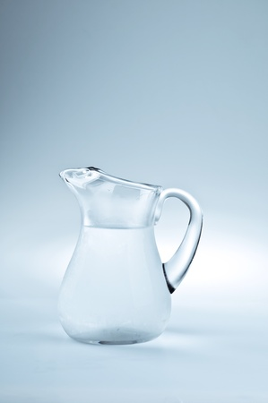 Pitcher filled with cool fresh water Stock Photo - 10268535