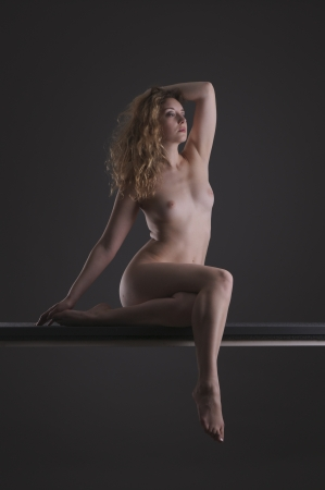 Beautiful artistic female nude