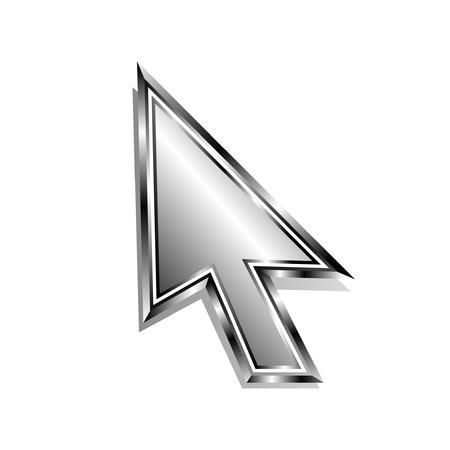 Modern arrow cursor Stock Vector - 5566114