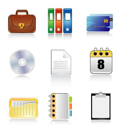 document icons Stock Vector - 5600589