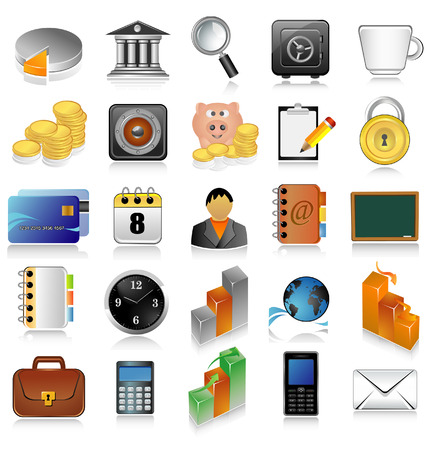 Conjunto de iconos para la web