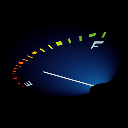 abstrakt: abstrakt fuel level Illustration