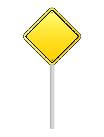 slowdown: traffic sign