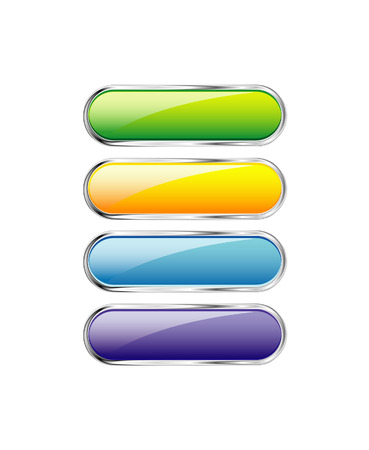 buttons set Stock Vector - 5705614